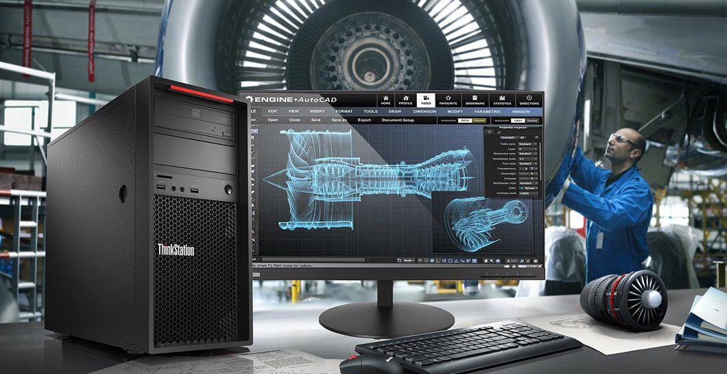 Lenovo ThinkStation P520C to prawdziwa stacja robocza, która jest w stanie zadowolić najbardziej wymagających użytkowników