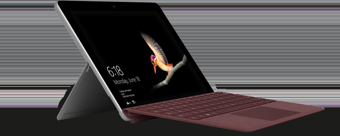 Microsoft Surface Go jest to nowatorski, bardzo mobilny sprzęt z linii urządzeń konwertowalnych